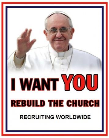 Pope Francis Challenge - Humor2
